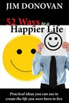 52 ways to a happier life book by Jim Donovan